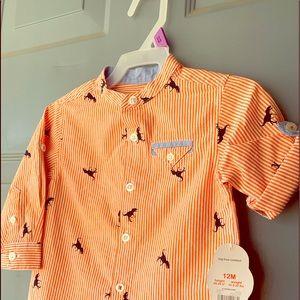 Wonder Nation - Baby Boy 12M Dinosaur Shirt $10